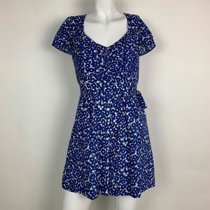 Anthropologie Romper Floral Casual Shorts Size 0